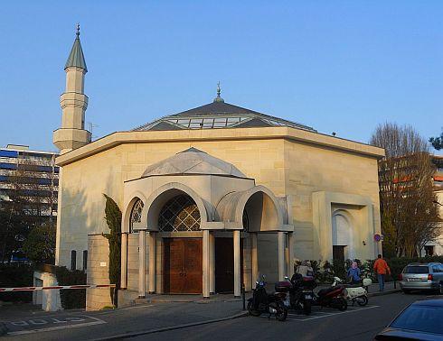 Die Moschee in Genf